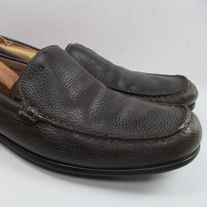 Ecco Mens Brown Driving Loafers Size 47